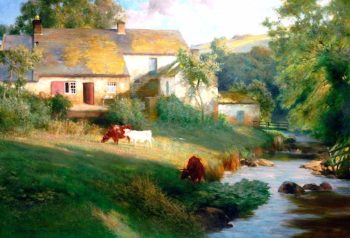 Landscape by Ovingham