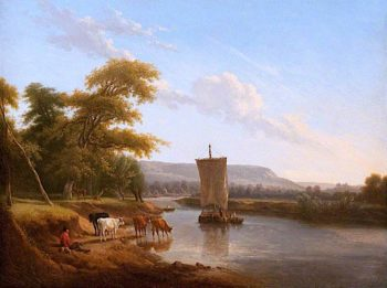 River Scene | Andrew Wilson | oil painting