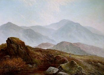 The Pass of Llanberis | Walter Heath Williams | oil painting