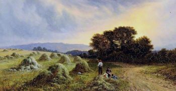 Haymaking | Walter Heath Williams | oil painting