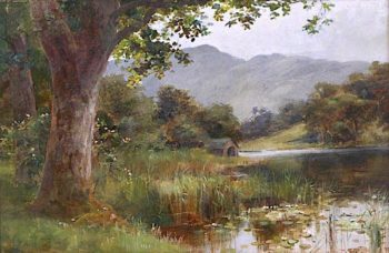 Rydal Water | William Lakin Turner | oil painting
