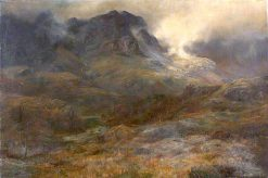 Glencoe | William Lakin Turner | oil painting