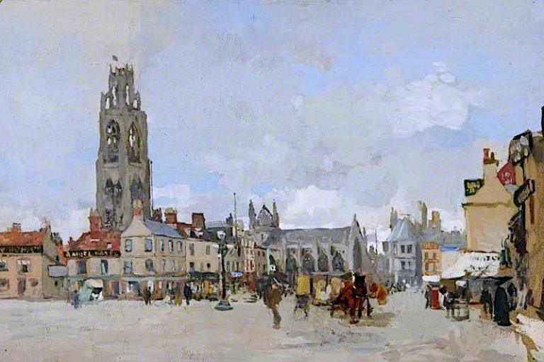 View of the Market Place