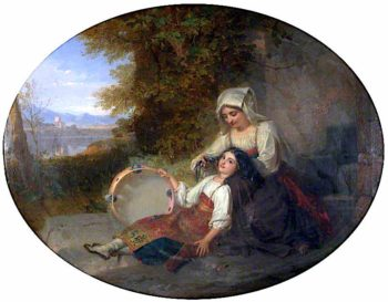 Repose | Penry Williams | oil painting