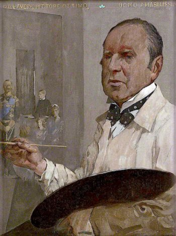 Sir John Lavery | James Kerr-Lawson | oil painting