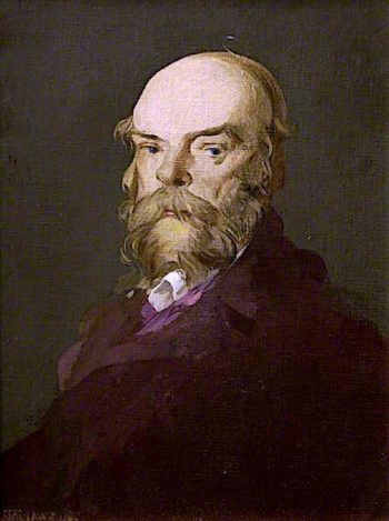 Paul Verlaine   James Kerr-Lawson   oil painting