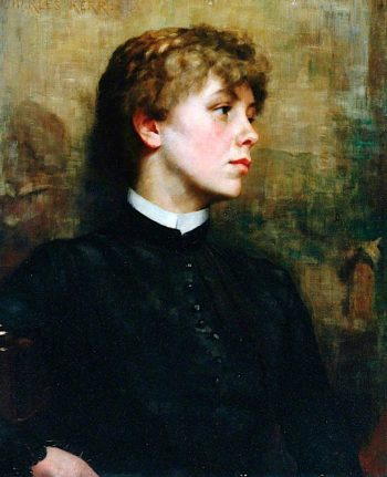 Claire | Charles Henry Malcolm Kerr | oil painting
