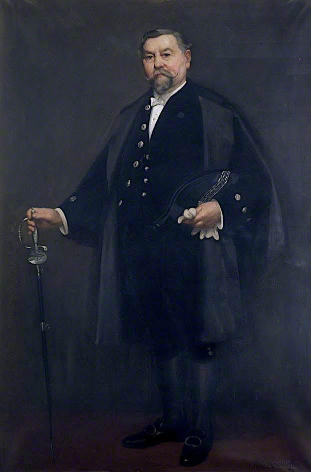 John Morris   Richard George Hinchcliffe   oil painting