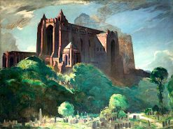 Liverpool Cathedral | Eric Harald Macbeth Robertson | oil painting
