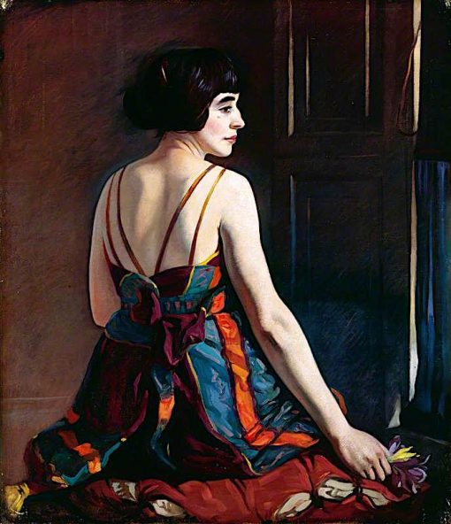 Cecile | Eric Harald Macbeth Robertson | oil painting