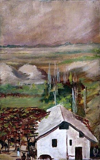 Landscape with a Farm House