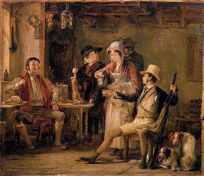 The Sportsman | David Wilkie | oil painting