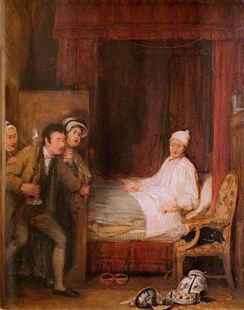 The Broken Jar | David Wilkie | oil painting