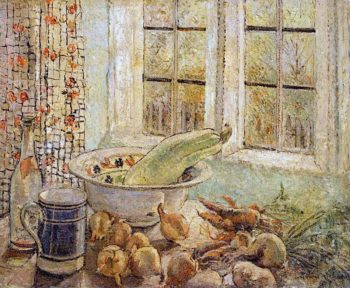 Still Life by a Window | Louise Pickard | oil painting