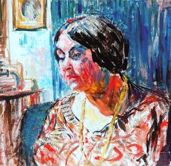 Study of Mrs M. Fisher Prout | Louise Pickard | oil painting