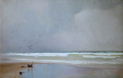 The Coming Storm | John Miller Nicholson | oil painting