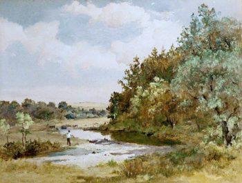 In East Baldwin | John Miller Nicholson | oil painting