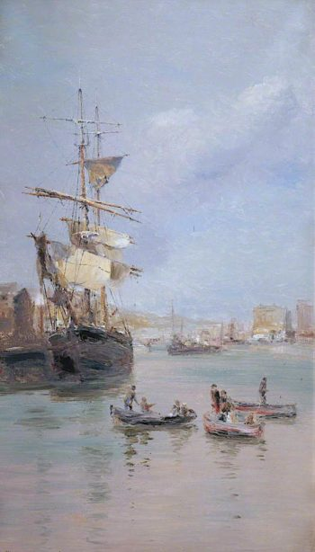 Douglas Harbour | John Miller Nicholson | oil painting
