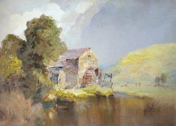 Baldwin Mill | John Miller Nicholson | oil painting