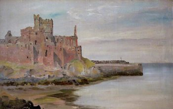 Peel Castle | John Miller Nicholson | oil painting