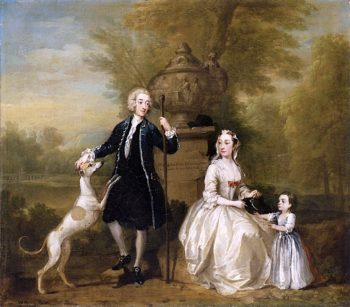The Cowper Family | William Hogarth | oil painting