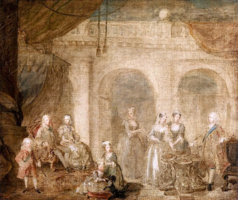 George II and Family
