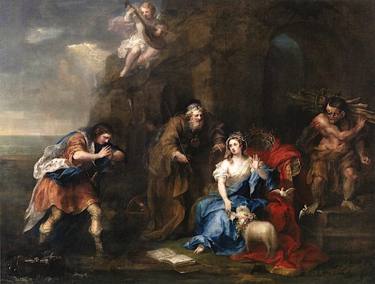 A Scene from Act I