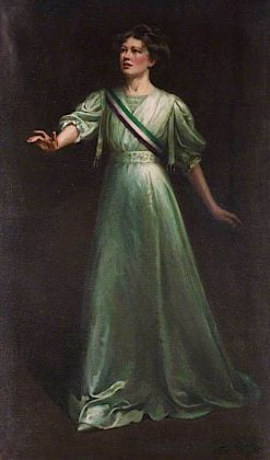 Dame Christabel Pankhurst | Ethel Wright | oil painting