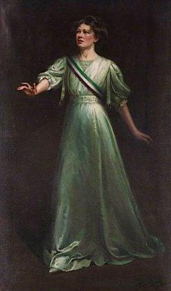 Dame Christabel Pankhurst | Ethel Wright | oil painting