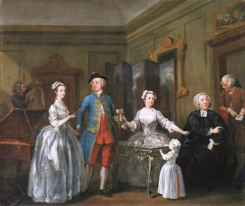 The Western Family | William Hogarth | oil painting