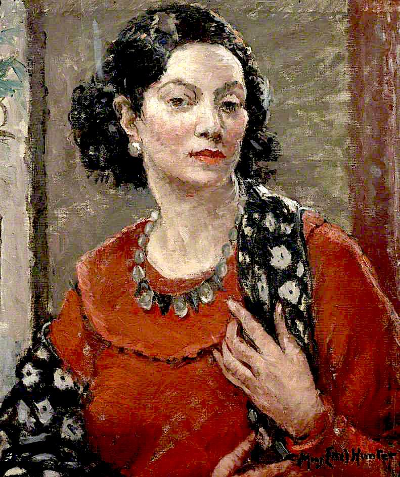 Marita | Mary Ethel Hunter | oil painting