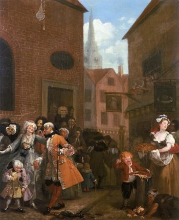 Four Times Of Day -  Noon | William Hogarth | oil painting