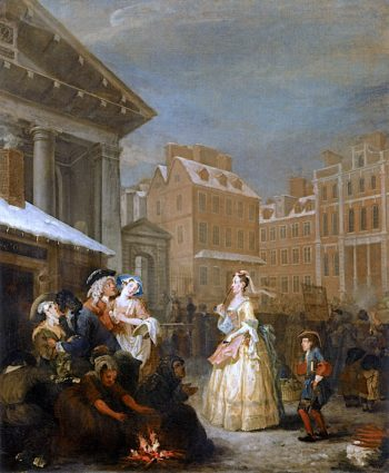 The Four Times of Day -  Morning | William Hogarth | oil painting