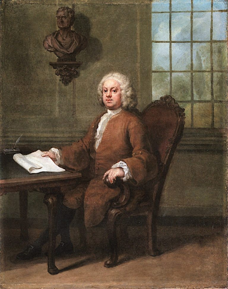 Dr Benjamin Hoadly | William Hogarth | oil painting