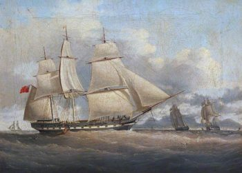 The Ship Sir Edward Paget | William John Huggins | oil painting