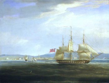 HMS Mercury Cuts Out the French Gunboat Leda from Rovigno