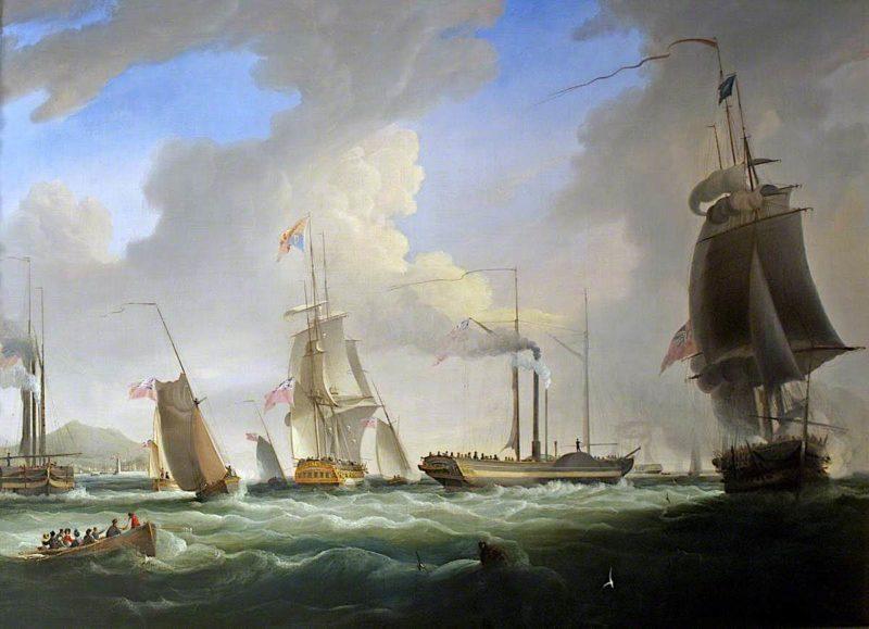 George IV On Board the Lightning