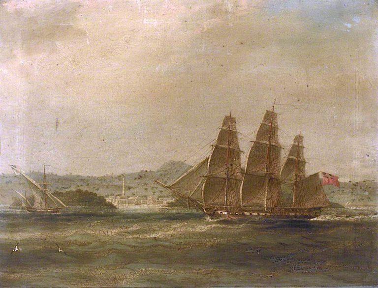 HMS Mercury Takes La Pugliese in Barletta