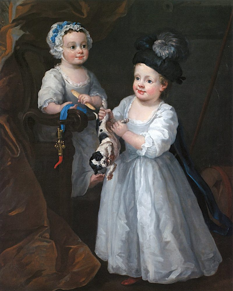 The Grey Children | William Hogarth | oil painting