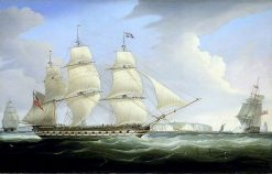 The East Indiaman Atlas | William John Huggins | oil painting