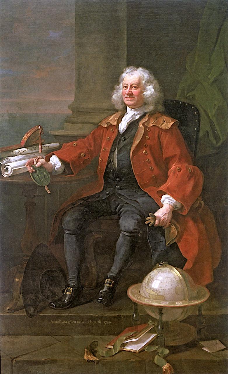 Captain Thomas Coram | William Hogarth | oil painting