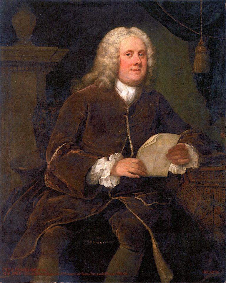 Frederick Meinhardt Frankland MP | William Hogarth | oil painting