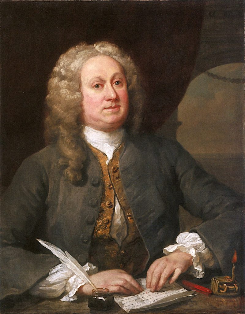 Joseph Porter Esq. of Mortlake   William Hogarth   oil painting