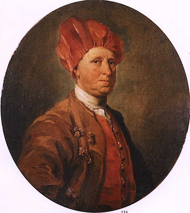 John Huggins Esq. | William Hogarth | oil painting