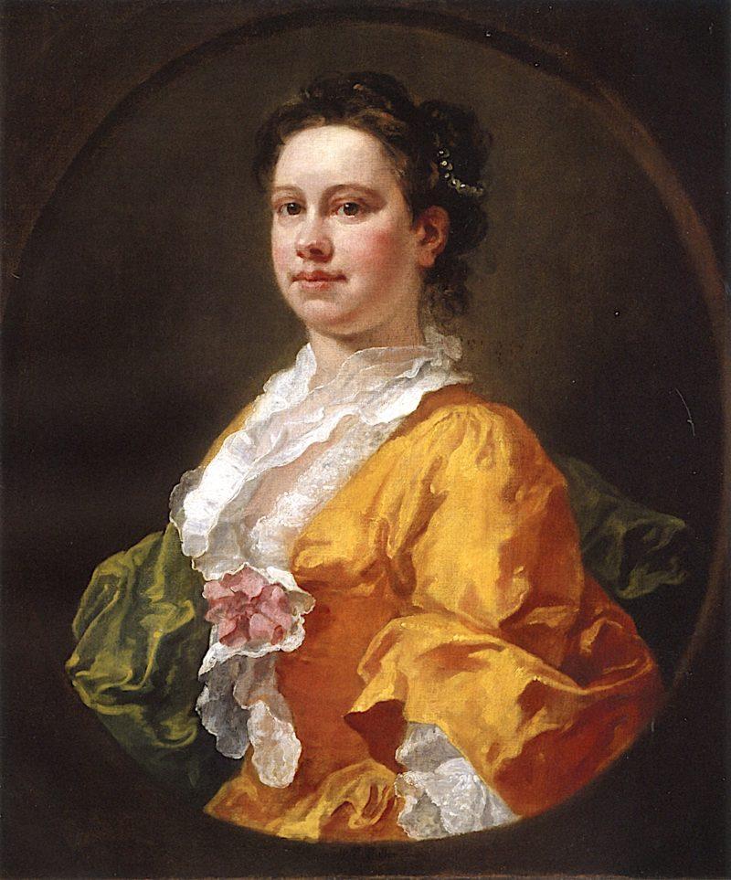 Elizabeth Secker   William Hogarth   oil painting