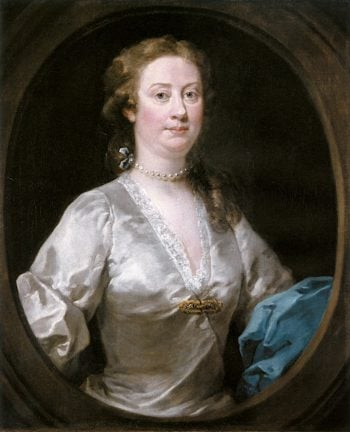 Mrs. Edwin Sandys | William Hogarth | oil painting