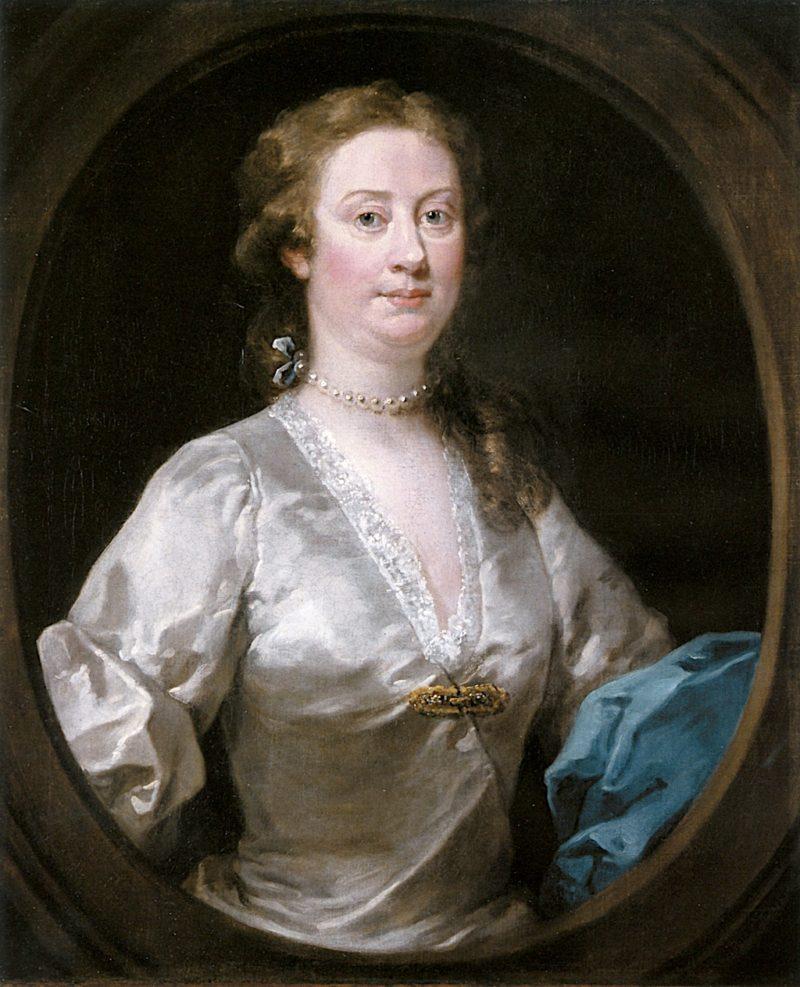 Mrs. Edwin Sandys | William Hogarth | oil painting