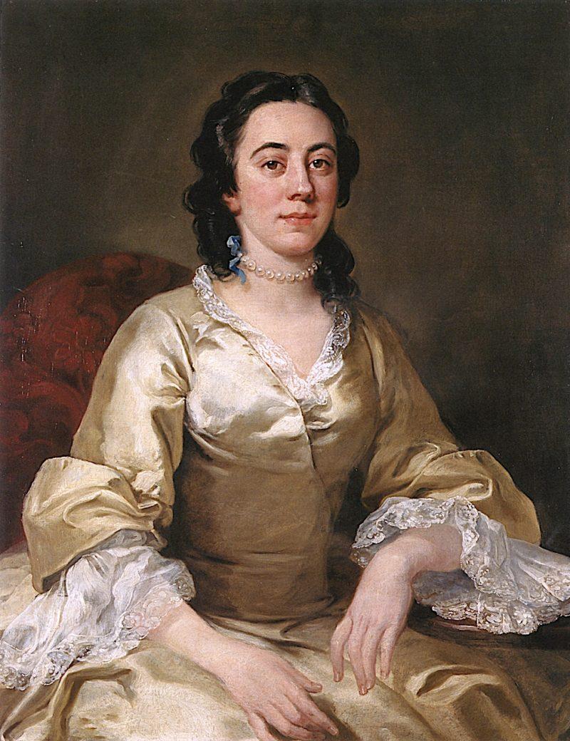 Mrs. Frances Arnold | William Hogarth | oil painting