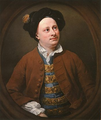 Richard James of the Middle Temple | William Hogarth | oil painting