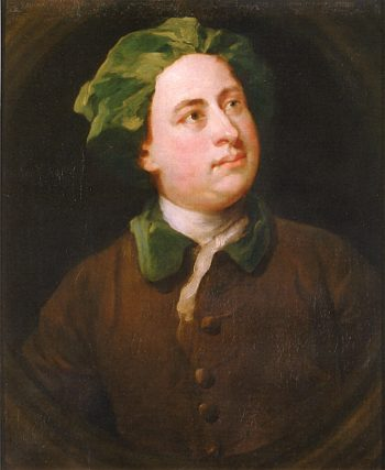 Unknown Man in a Green Velvet Cap | William Hogarth | oil painting